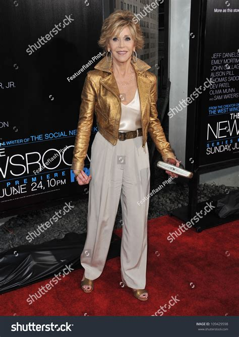 fonda at the los angeles premiere for hbo s new