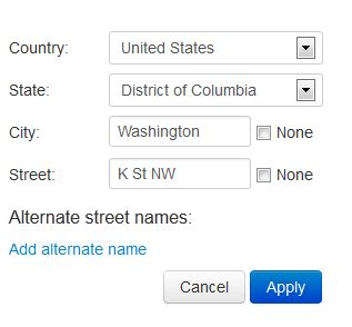 Address Search By Name And State Creating And Editing Road Segments Waze