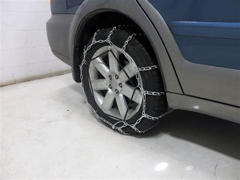 subaru tire chains titan chain snow tire chains ladder pattern twist