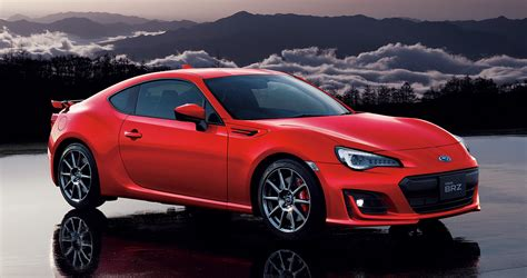 subaru japanese subaru introduces top spec brz gt for japanese market
