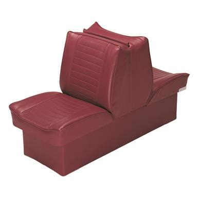 wise deluxe boat lounge seat wise deluxe boat lounge seat red 705164 fold down