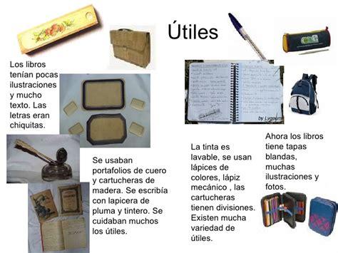 imagenes de utiles escolares antiguos la escuela ayer y hoy 3 186
