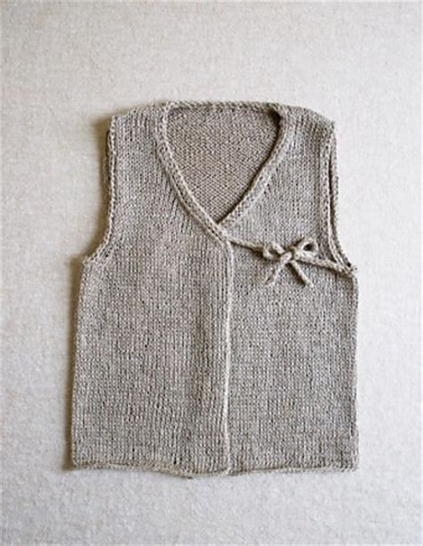 baby knitted vest pattern knitting patterns galore linen vest for babies