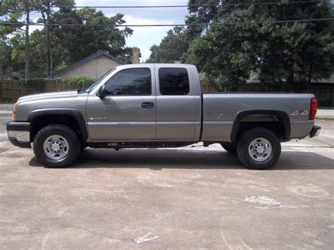 how to sell used cars 2006 chevrolet silverado 3500 engine control find used 2006 chevrolet silverado 2500 4x4 extended cab in houston texas united states