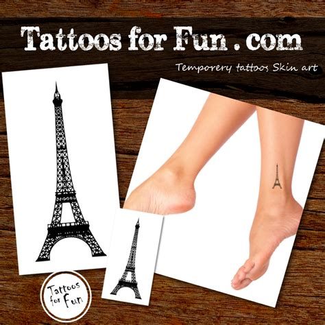 tattoo prices paris eiffel tower temporary tattoo tattoos for fun