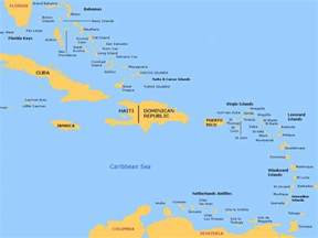 map of eastern us and bahamas eastern caribbean
