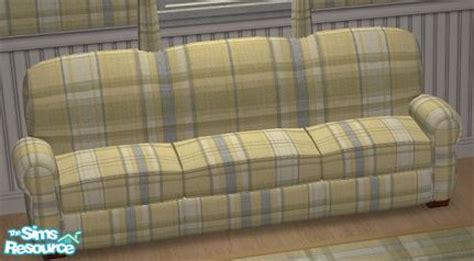 blue plaid sofa mermaidofthenile s tc100 yellow and blue plaid sofa