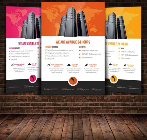 product flyer template psd indesign eps and ai formats