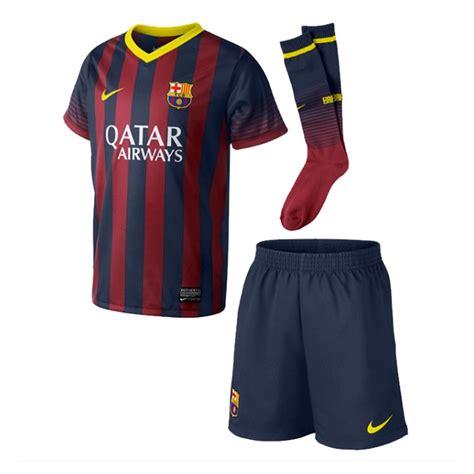 Barcelona Home 13 14 nike fc barcelona home boys 13 14 soccer kit midnight navy vibrant yellow