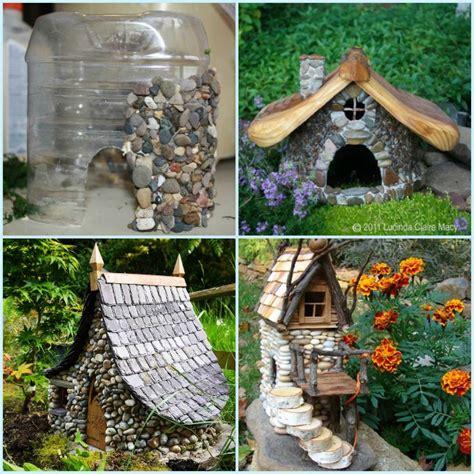 diy fairy house diy miniature stone fairy house tutorial