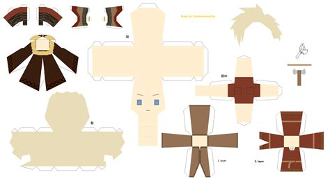 Viking Papercraft - viking denmark papercraft by kimimonsterkitty on deviantart