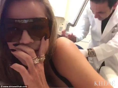 khloe tattoo removal khloe shows pert bottom outside gunnar