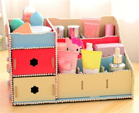 diy storage box ideas diy makeup organizer box makeup vidalondon