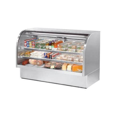 Shelf Of Deli by Ordernow True S S 2 Shelf Curved Glass Refrigerated Deli