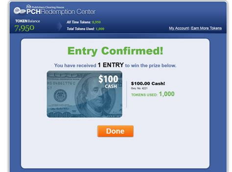Pch Com Redeem Tokens - the results are in may redemption center winners at pch com pch blog