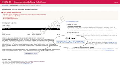 Rutgers Mba Application Status by How To Change Your Ru Book Advance Status Student