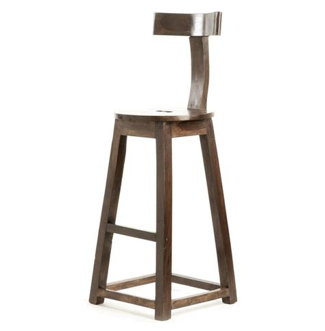 Wood Counter Stools by Modern Industrial Rustic Solid Wood Counter Stool Kathy