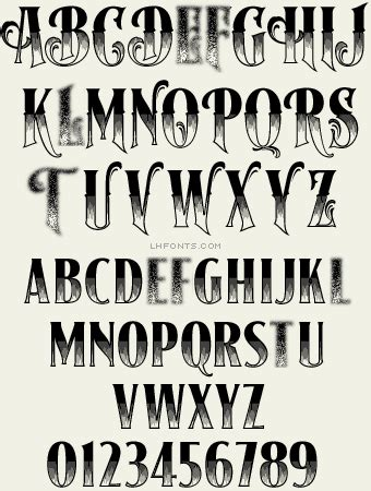 tattoo fonts plain letterhead fonts lhf signmaker 2 antique fonts work