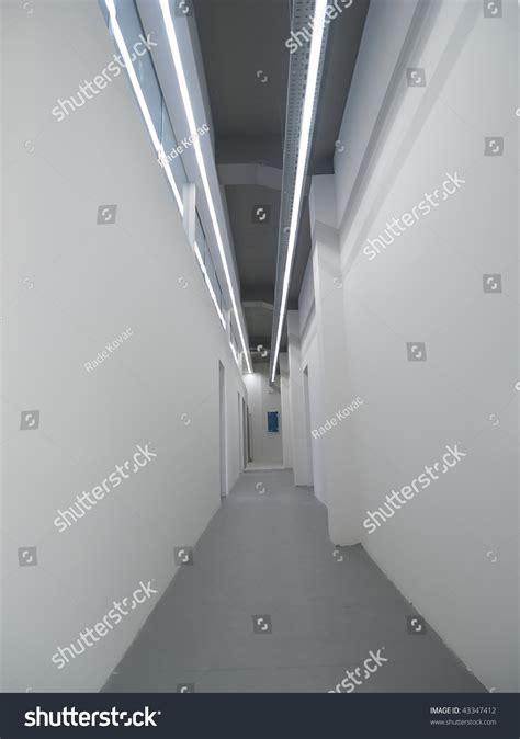White Corridor white corridor stock photo 43347412