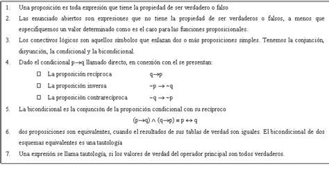el resultado resumen de los clculos de la tabla l 243 gica proposicional p 225 gina 2 monografias com