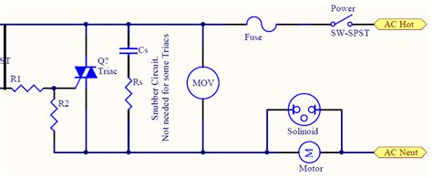 triac design application notes better triac gate configuration electrical engineering