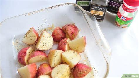 cucinare patate rosse 5 modi per cucinare le patate rosse wikihow