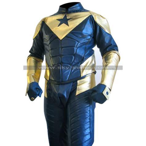 Costume Jacket booster gold eric martsolf leather costume jacket