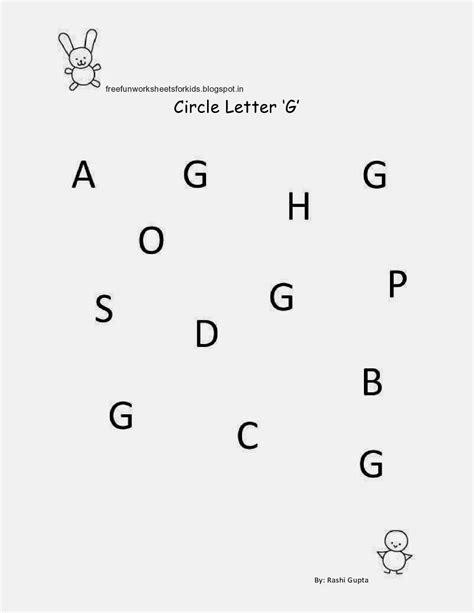 Free Fun Worksheets For Kids: Free Printable Fun