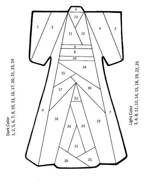 yukata pattern english the born doodler iris folding kimono pattern quilt