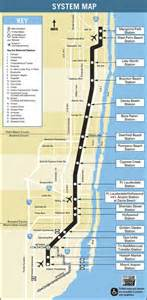 florida rail map south florida tri rail maplets