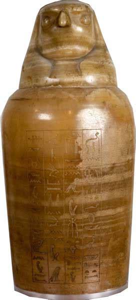 vaso canopo tutte le opere museo di scultura antica barracco