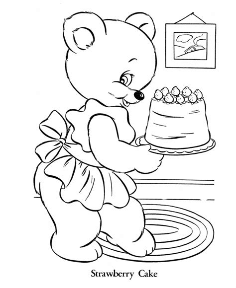 mama bear coloring pages mama bear colouring pages