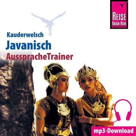 Aussprachetrainer Javanisch Mp3 Reise Know How Verlag