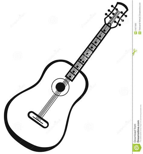 Guitar Clipart Outline by Guitar Outline Clip Clipart Panda Free Clipart Images