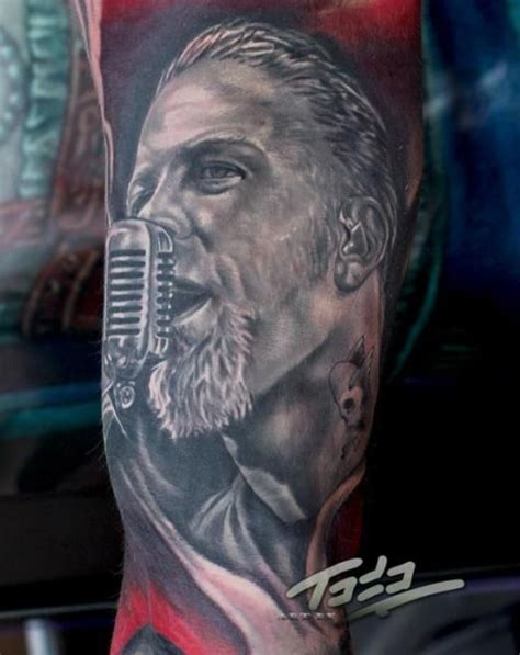 james hetfield tattoos 18 best images about metallica on top