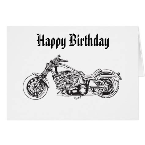 printable birthday cards with motorcycle biker happy birthday quotes quotes