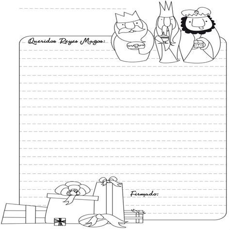 imagenes reyes magos para recortar cartas a los reyes magos para colorear dibujos de navidad