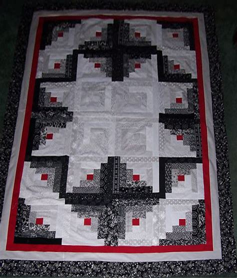 Log Cabin Quilt Pattern Log Cabin Quilt Carla Barrett
