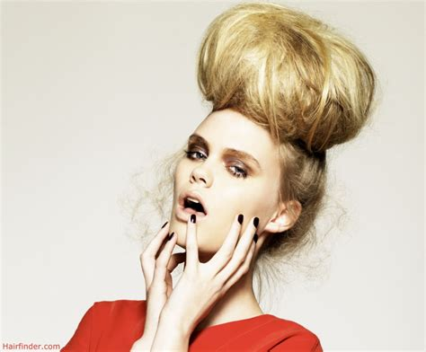 hair styles for the ball elaborate updo with a giant ball of hair