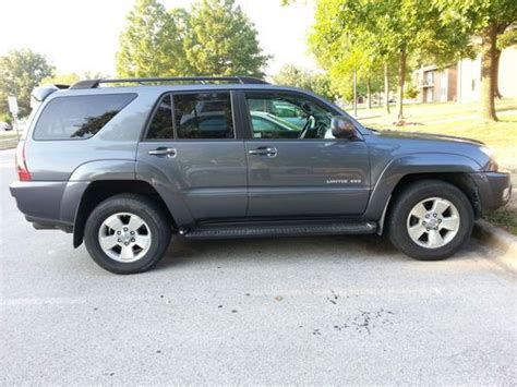 how to fix cars 2005 toyota 4runner auto manual sell used 2005 toyota 4runner limited sport utility v6 4 door 4 0l 4wd third seat leather in