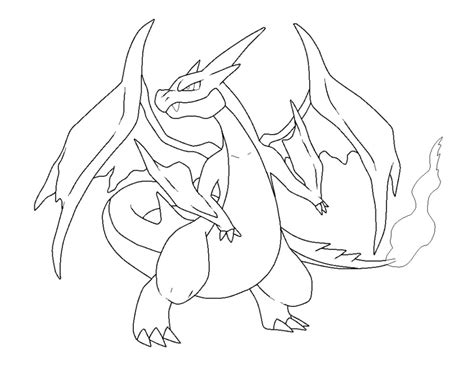 Charizard Ex Coloring Pages by Coloring Pages Mega Charizard Ex Coloring Pages