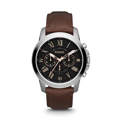 blibli fossil jual fossil grant fs4813 jam tangan pria silver online