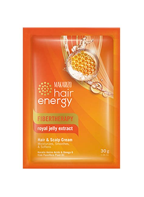 Sho Makarizo Hair Energy makarizo hair energy fibertherapy royal jelly sct 30g