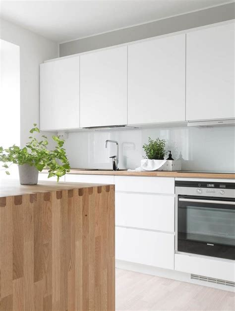 white and wood kitchen best 25 white wood kitchens ideas on pinterest white