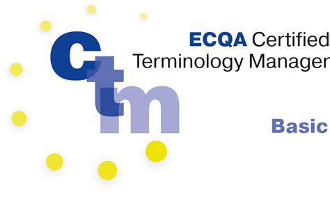 certified total quality manager ctqm international standard in total quality management books ecqa certified terminology manager explanier in webinar