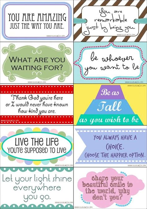 printable lunch quotes free printable card drops school pinterest