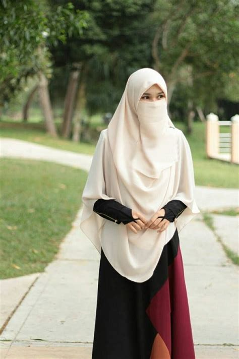 tutorial pakai niqab niqabniqab fashionmore pins like this at fosterginger