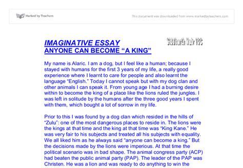 Imaginative Essay imaginative essay gcse marked by teachers