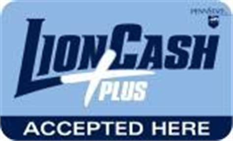lion cash card amp penn states student id information by