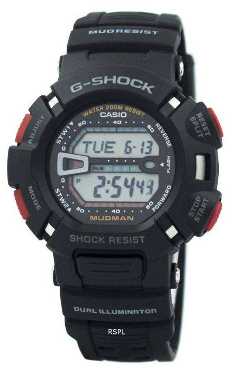 Casio G-Shock Mudman G-9000-1V Watch - DownUnderWatches G Shock Mudman G9000